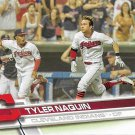 Tyler Naquin 2017 Topps #203 Cleveland Indians Baseball Card