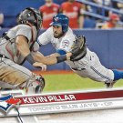 Kevin Pillar 2017 Topps #6 Toronto Blue Jays Baseball Card