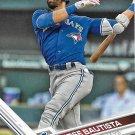 Jose Bautista 2017 Topps #60 Toronto Blue Jays Baseball Card