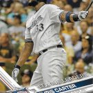 Chris Carter 2017 Topps #170 Milwaukee Brewers Baseball Card