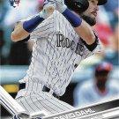 David Dahl 2017 Topps Rookie #306 Colorado Rockies Baseball Card