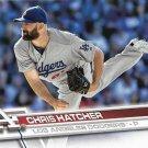 Chris Hatcher 2017 Topps #325 Los Angeles Dodgers Baseball Card