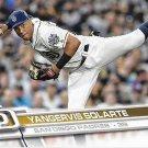Yangervis Solarte 2017 Topps #125 San Diego Padres Baseball Card
