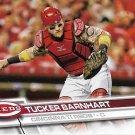 Tucker Barnhart 2017 Topps #253 Cincinnati Reds Baseball Card