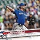Jason Grilli 2017 Topps #90 Toronto Blue Jays Baseball Card