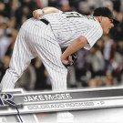 Jake McGee 2017 Topps #180 Colorado Rockies Baseball Card
