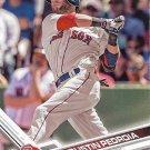 Dustin Pedroia 2017 Topps #130 Boston Red Sox Baseball Card