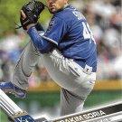 Joakim Soria 2017 Topps #45 Kansas City Royals Baseball Card