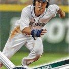 Nori Aoki 2017 Topps #153 Seattle Mariners Baseball Card