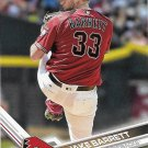 Jake Barrett 2017 Topps #51 Arizona Diamondbacks Baseball Card