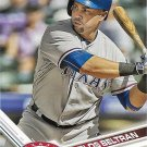 Carlos Beltran 2017 Topps #315 Texas Rangers Baseball Card