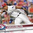Adrian Beltre 2017 Topps #280 Texas Rangers Baseball Card