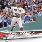Xander Bogaerts 2017 Topps #61 Boston Red Sox Baseball Card