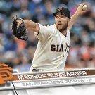 Madison Bumgarner 2017 Topps #65 San Francisco Giants Baseball Card