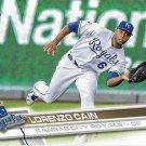 Lorenzo Cain 2017 Topps #167 Kansas City Royals Baseball Card
