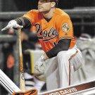 Chris Davis 2017 Topps #95 Baltimore Orioles Baseball Card