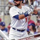 Andre Ethier 2017 Topps #76 Los Angeles Dodgers Baseball Card