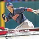 Brandon Guyer 2017 Topps #312 Cleveland Indians Baseball Card