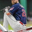 Corey Kluber 2017 Topps #257 Cleveland Indians Baseball Card
