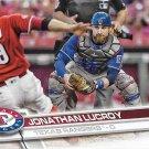 Jonathan Lucroy 2017 Topps #346 Texas Rangers Baseball Card