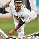 Sean Manaea 2017 Topps #187 Oakland Athletics Baseball Card