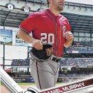 Daniel Murphy 2017 Topps #62 Washington Nationals Baseball Card