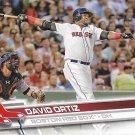 David Ortiz 2017 Topps #350 Boston Red Sox Baseball Card