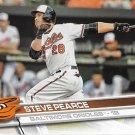Steve Pearce 2017 Topps #169 Baltimore Orioles Baseball Card