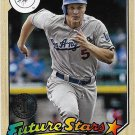 Corey Seager 2017 Topps 1987 Design #87-40 Los Angeles Dodgers Baseball Card