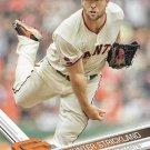 Hunter Strickland 2017 Topps #246 San Francisco Giants Baseball Card