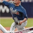 Julio Teheran 2017 Topps #278 Atlanta Braves Baseball Card
