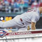 Jake Thompson 2017 Topps Rookie #344 Philadelphia Phillies Baseball Card