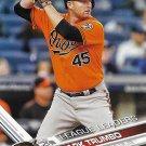 Mark Trumbo 2017 Topps #55 Baltimore Orioles Baseball Card