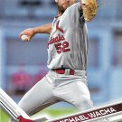 Michael Wacha 2017 Topps #99 St. Louis Cardinals Baseball Card