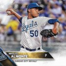 Miguel Almonte 2016 Topps Rookie #606 Kansas City Royals Baseball Card