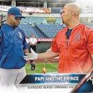 David Ortiz-Albert Pujols 2016 Topps #126 Red Sox, Angels Baseball Card