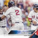 Boston Red Sox 2016 Topps #463 Baseball Team Card