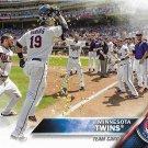Minnesota Twins 2016 Topps #181 Baseball Team Card
