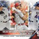 Nolan Arenado-Paul Goldschmidt-Anthony Rizzo 2016 Topps #166 Baseball Card