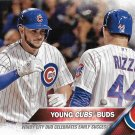 Kris Bryant-Anthony Rizzo 2016 Topps #453 Chicago Cubs Baseball Card