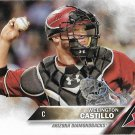 Wellington Castillo 2016 Topps #628 Arizona Diamondbacks Baseball Card