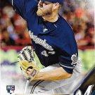 Adrian Houser 2016 Topps Rookie #553 Milwaukee Brewers Baseball Card