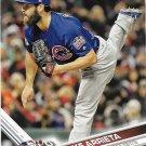 Jake Arrieta 2017 Topps #18 Chicago Cubs Baseball Card
