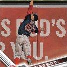Mookie Betts 2017 Topps #161 Boston Red Sox Baseball Card
