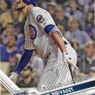 Kris Bryant 2017 Topps #277 Chicago Cubs Baseball Card