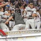 Arizona Diamondbacks 2017 Topps #320 Baseball Team Card