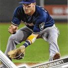 Scooter Gennett 2017 Topps #49 Milwaukee Brewers Baseball Card