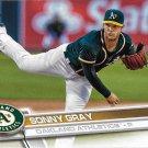 Sonny Gray 2017 Topps #177 Oakland Athletics Baseball Card