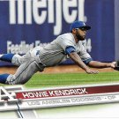 Howie Kendrick 2017 Topps #107 Los Angeles Dodgers Baseball Card