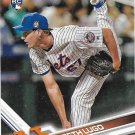 Seth Lugo 2017 Topps Rookie #319 New York Mets Baseball Card